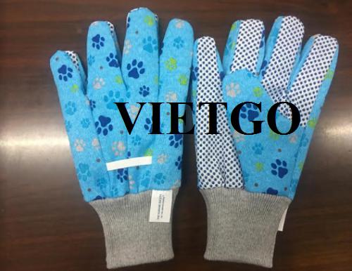 Cơ hội cung cấp găng tay vải cho một doanh nghiệp lâu đời tại Mỹ