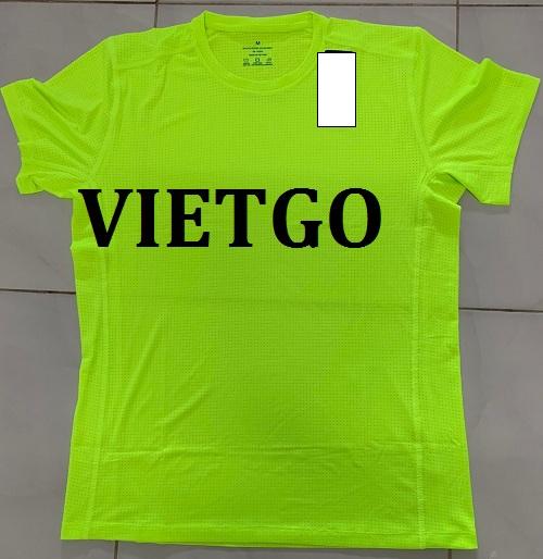Cơ hội xuất khẩu áo T-shirt Drifit cho doanh nghiệp đến từ Ấn Độ