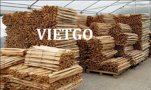 Cơ hội xuất khẩu 5 container cọc gỗ keo hàng tháng sang thị trường Ukraine.