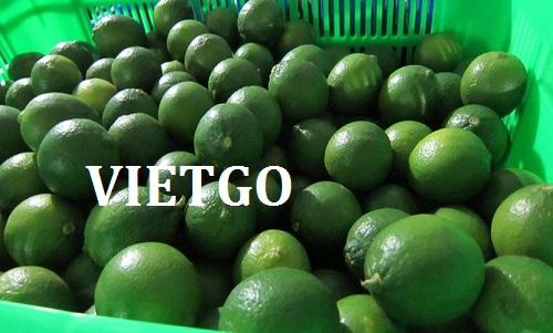 Cơ hội xuất khẩu chanh xanh sang thị trường Nepal.