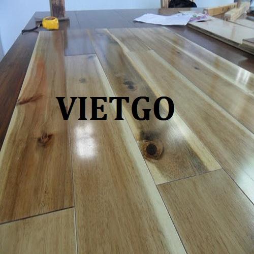 Cơ hội xuất khẩu 50 container 20ft ván sàn gỗ keo hàng tháng sang thị trường Mỹ
