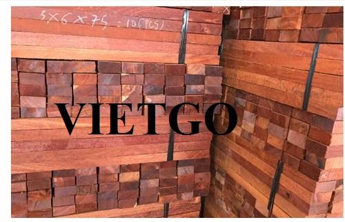 Cơ hội xuất khẩu 40 container 40ft gỗ căm xe xẻ và tròn mỗi tháng sang thị trường Trung Quốc