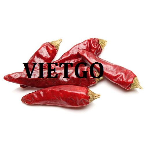 Cơ hội xuất khẩu ớt sang thị trường Bangladesh