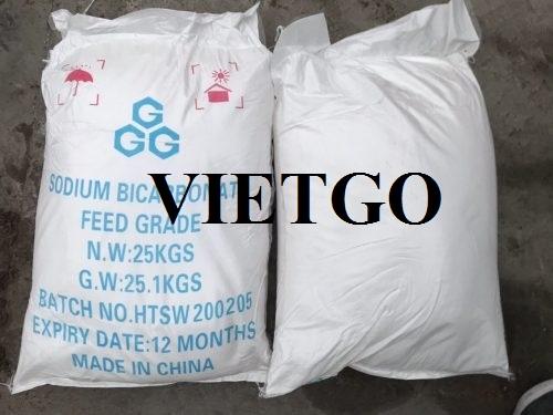 Opportunity to export sodium bicarbonate to Georgia market