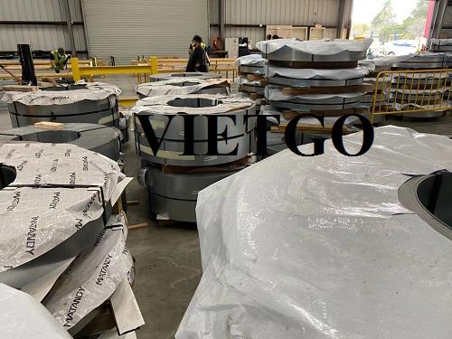 Cơ hội cung cấp 3.000 tấn cuộn thép mạ kẽm mỗi năm cho một doanh nghiệp tại Mỹ