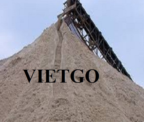 Opportunity to export 50.000 tons of sand monthly to China