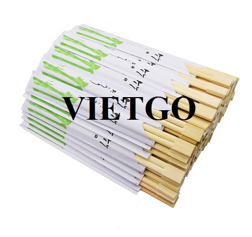 A Myanmar importer is looking for suppliers of disposable bamboo chopsticks