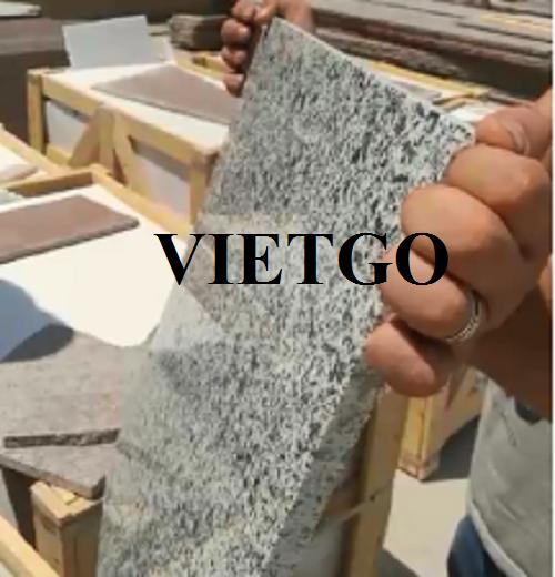 Cơ hội xuất khẩu mỗi tháng 6 container đá granite sang thị trường Iraq