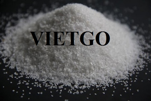 Opportunity to provide monthly silica sand for a Chinese enterprise
