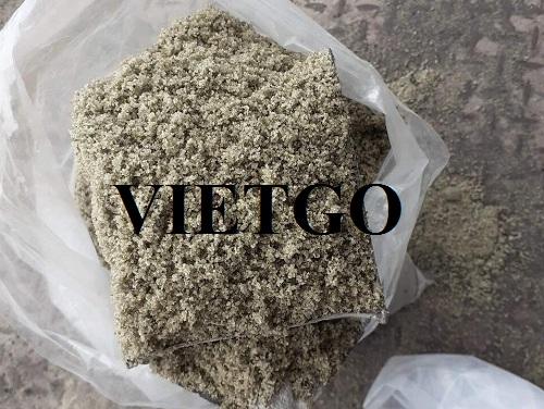 Đơn vị thương mại tại Việt Nam có nhu cầu tìm nhà cung cấp về sản phẩm Xỉ hạt lò cao để xuất khẩu.