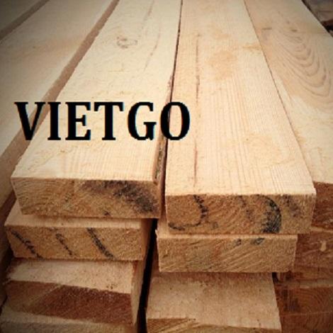 Cơ hội xuất khẩu 3 container 20ft gỗ thông sang thị trường Pakistan