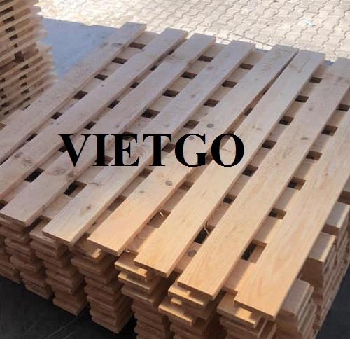 Cơ hội xuất khẩu 5 container 40ft gỗ thông xẻ sang thị trường Ai Cập