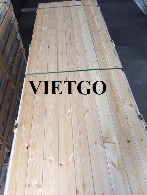 Cơ hội xuất khẩu gỗ thông xẻ sang vương quốc Anh