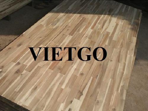 Cơ hội xuất khẩu gỗ ghép thanh sang thị trường Ấn Độ