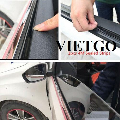 Cơ hội xuất khẩu hàng chục container 20ft dải cao su viền kính xe hơi hàng tháng sang thị trường Syria