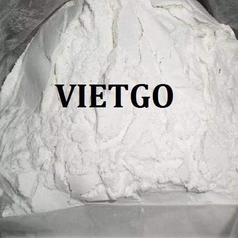 Cơ hội xuất khẩu Tinh bột sắn sang thị trường Trung Quốc