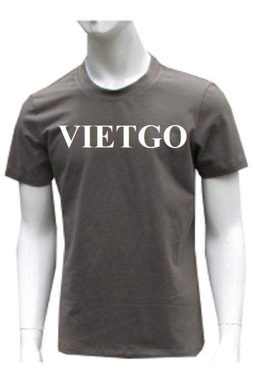 Cơ hội xuất khẩu sản phẩm áo T shirt số lượng lớn sang thị trường Ghana