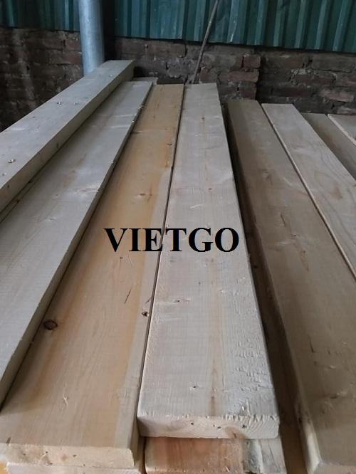 Cơ hội xuất khẩu 250m3 gỗ thông xẻ hàng tháng sang thị trường Ấn Độ