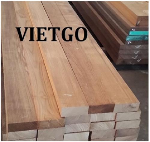 Cơ hội xuất khẩu gỗ teak xẻ sang thị trường Bangladesh