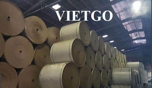 Cơ hội xuất khẩu 3000 tấn giấy cuộn bột gỗ hàng tháng sang thị trường Trung Quốc