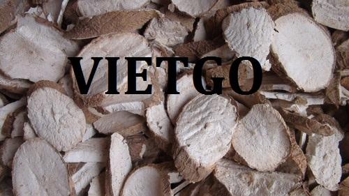 Cơ hội xuất khẩu tinh bột sắn và sắn lát sang thị trường Bangladesh