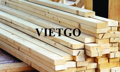 Cơ hội xuất khẩu 15 container 40ft gỗ thông xẻ hàng tháng sang thị trường Oman