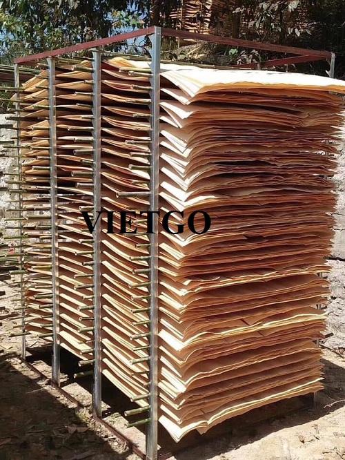 Cơ hội xuất khẩu 10 container 20ft ván bóc mỗi tháng sang thị trường Ấn Độ