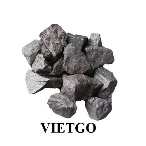 Cơ hội xuất khẩu 10 container 20ft hợp kim Ferro Silicon Manganese sang thị trường Pakistan