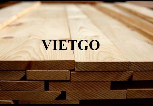 Cơ hội xuất khẩu 60 container 20ft gỗ teak xẻ mỗi năm sang thị trường Iraq