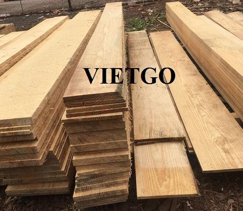 Cơ hội xuất khẩu gỗ thông xẻ sang thị trường Trung Quốc