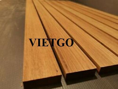 Cơ hội xuất khẩu gỗ teak xẻ sang thị trường Italy
