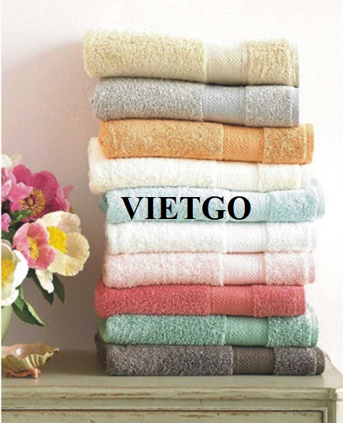 Cơ hội xuất khẩu sản phẩm khăn bông đến thị trường Hàn Quốc