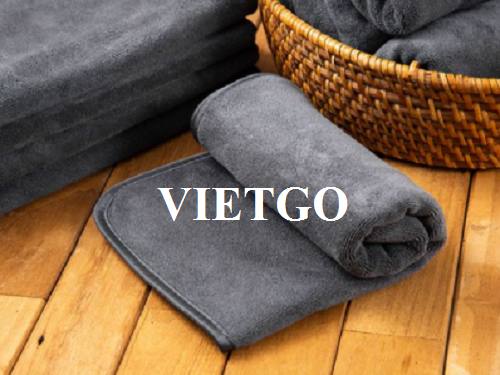 Opportunity to export 26.000 cotton towels per week to the Korean market