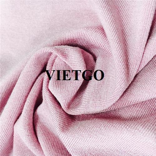 Cơ hội cung cấp vải may mặc cho một doanh nghiệp tại Ấn Độ