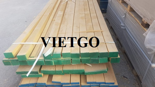 Cơ hội xuất khẩu 1000m3 gỗ thông xẻ 6 tháng 1 lần sang thị trường UAE