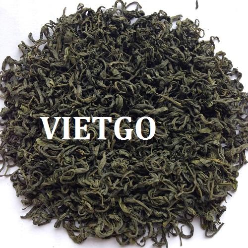 Opportunity to export green tea to Myanmar
