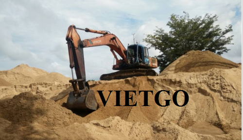Opportunity to supply river sand for a 5-year railway construction project in China