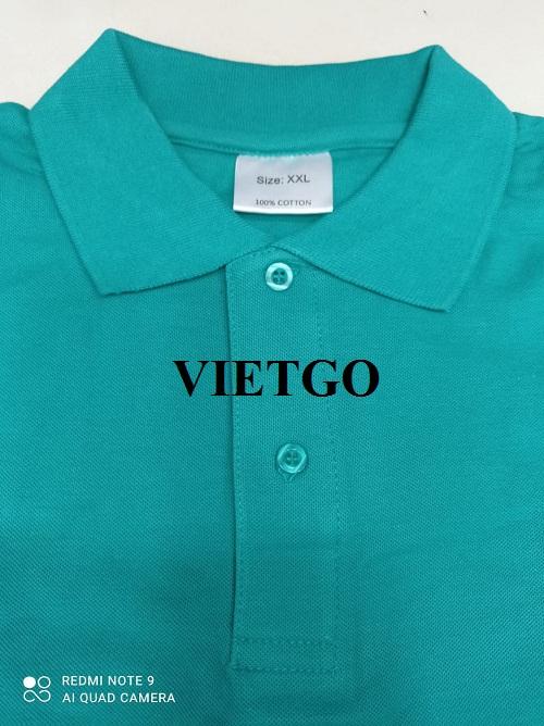 Cơ hội cung cấp số lượng lớn mặt hàng áo Polo Shirt cho một doanh nghiệp tại Hy Lạp