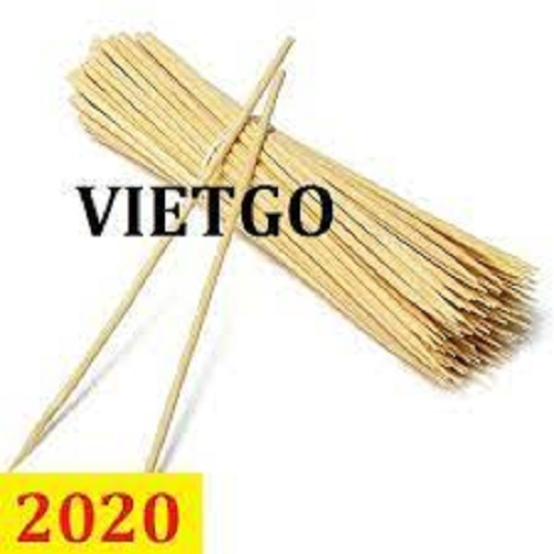 Opportunity to export bamboo skewers to a bamboo product trading enterprise in Zimbabwe