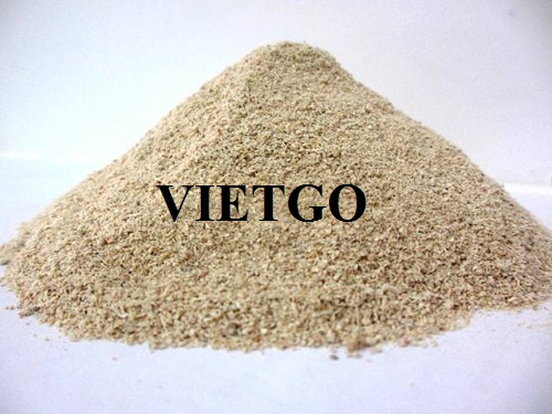 Opportunity to export 100 tons of tapioca residue to Indonesia