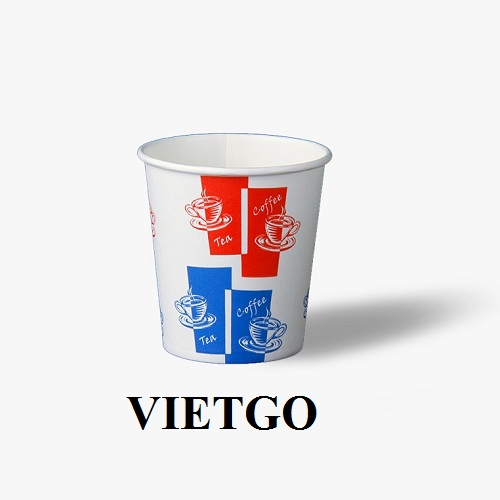 Opportunity to export paper cups to the Gambia market