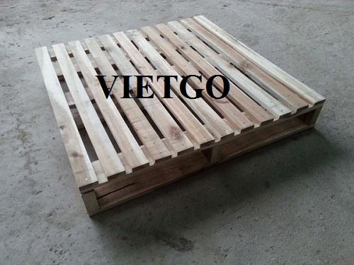 Cơ hội xuất khẩu 40 container 40ft gỗ keo xẻ làm pallet hàng tháng sang thị trường Trung Quốc
