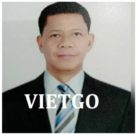 Thông báo hợp tác -Ông Rey- thương nhân đến từ Philippines-đang tìm kiếm nhà phân phối tại Việt Nam cho thiết bị lọc khí y tế
