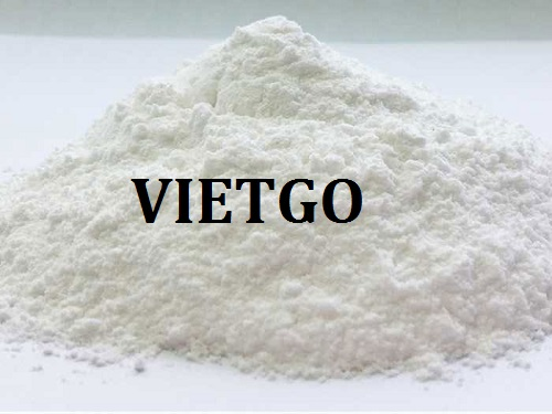 Opportunity to export tapioca starch to the Korean market