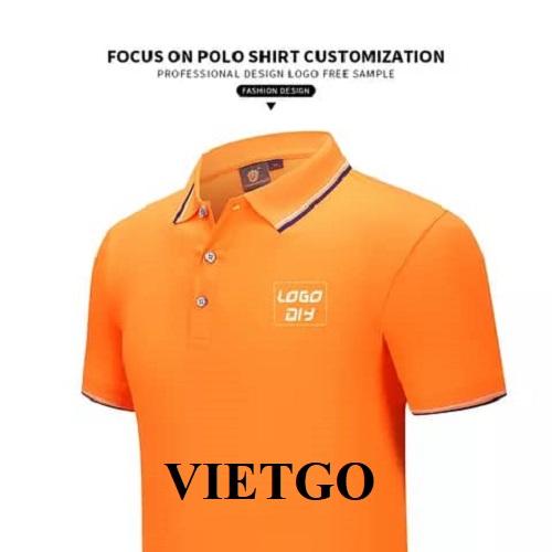 Cơ hội xuất khẩu mặt hàng áo Polo cho vị khách hàng đến từ Ghana