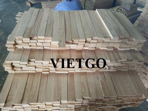 Cơ hội xuất khẩu 30 container 20ft gỗ keo xẻ hàng tháng sang thị trường Indonesia