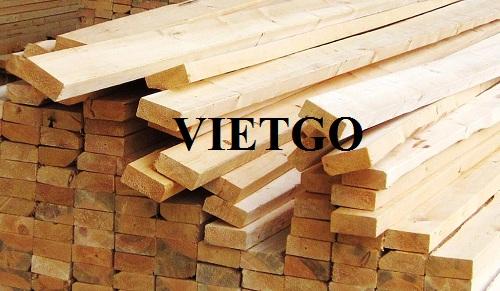 Cơ hội xuất khẩu 50 container 40ft gỗ thông xẻ hàng tháng sang thị trường Israel