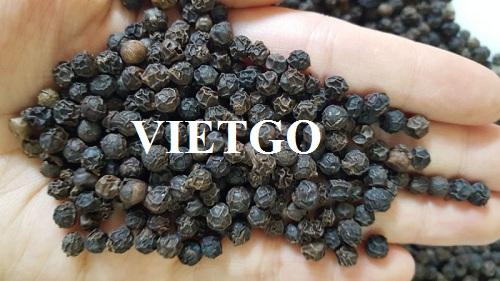 Vị khách hàng tại Việt Nam muốn tìm đối tác cung cấp sản phẩm tiêu đen để xuất khẩu sang Ả Rập Xê Út