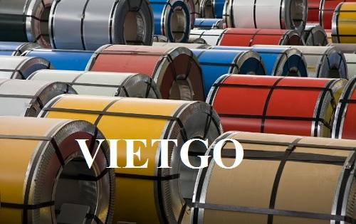 Cơ hội xuất khẩu 300 tấn thép cuộn PPGI sang thị trường Bangladesh