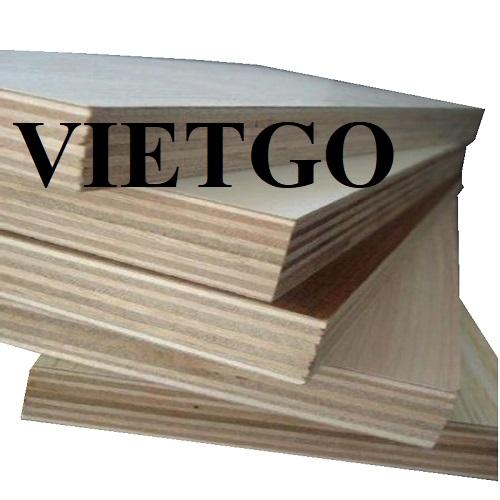 Cơ hội xuất khẩu 20 container 40ft gỗ dán phủ melamine hàng tháng sang thị trường Peru